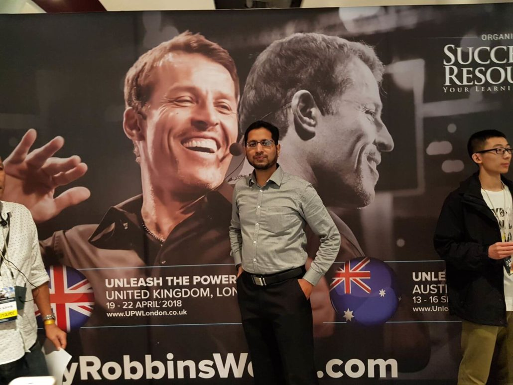 nlp practitioner and life coach in gulbarga, hyderabad,bangalore trained by tony robbins the world's number 1 motivational speaker
