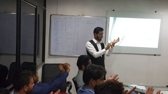 training at mahindra